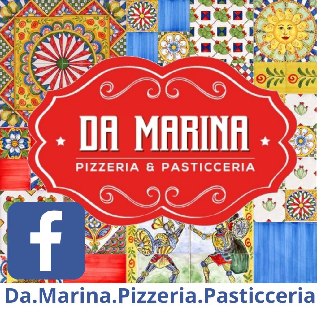 """""""Da Marina"""" Pizzeria und Pasticceria Ludwigshafen am Rhein italienische Pizza Rosticceria italienische Pasticcini und italienische Spezialitäten"""